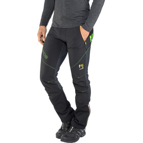 Karpos Alagna Plus Pantalon Homme, black/dark grey/green fluo